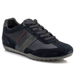 639d0212257 U52T5C Geox - Navy/DK Burgundy | NAK Shoes