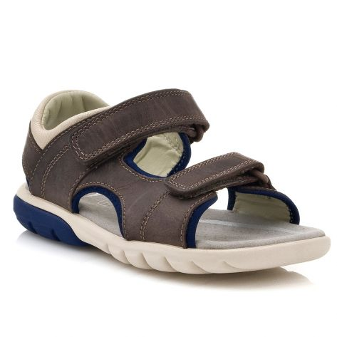 5ad6e8a018 ROCCO WAVE Clarks - Brown Leather | NAK Shoes