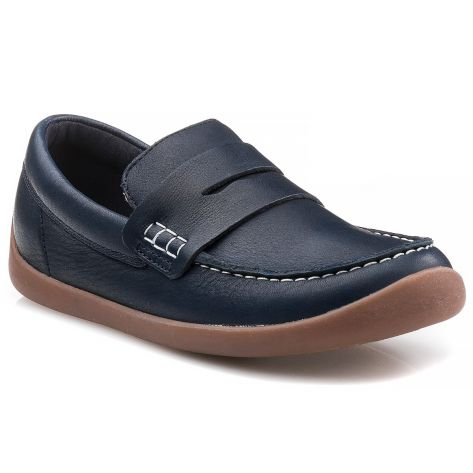 d6eb3fc25be ArtistStride K Clarks - Navy Leather