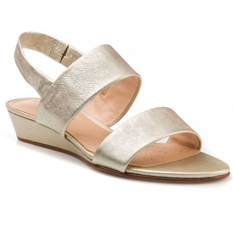 4c095528be97 Sense Lily Clarks - Champagne Leather