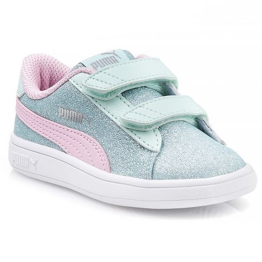 367380 Puma - Aqua-Pink-Silver-White