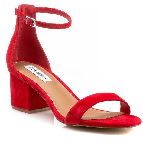 7a061c03f94 IRENEE Steve Madden - Red Suede