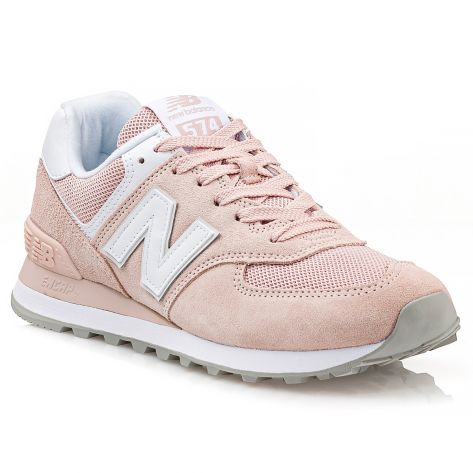 Accor Electropositivo Hito  WL574OAB New Balance - Pink/White(653) | NAK Shoes