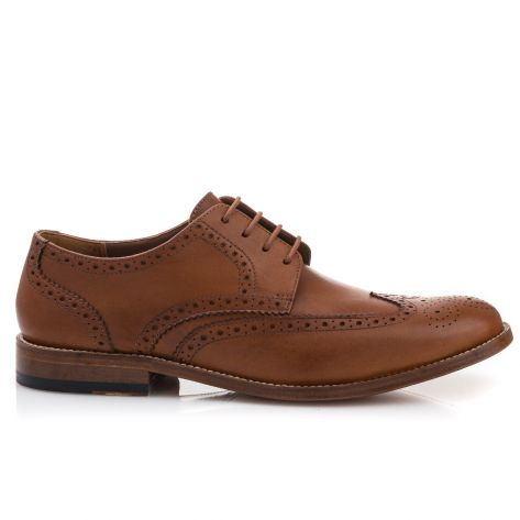 Accor Literatura blanco  JAMES WING Clarks - Tan Leather | NAK Shoes